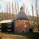Oast House, New Norfolk, TasmaniaKODACHROME 64 by Brett Rogers