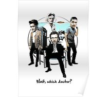 Wait, which doctor? Poster