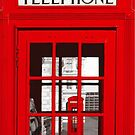 London Telephone  by gleviosa