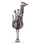 Giraffe in a glass by Memberis