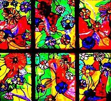 """""""Window of Flowers"""" by Chip Fatula by njchip123"""