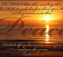 Numbers 6:24 - Peace by JLOPhotography