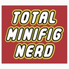 TOTAL MINIFIG NERD by Customize My Minifig by ChilleeW
