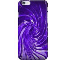 """""""Purple Swirl Martini Glass"""" by Chip Fatula iPhone Case/Skin"""