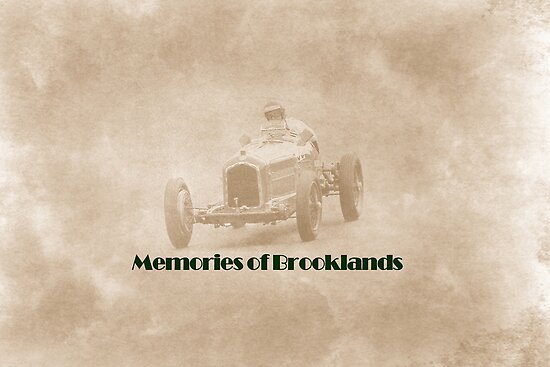 Memories of Brooklands by Catherine Hamilton-Veal  ©
