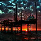 Oilfield Awakening by Michael Reimann