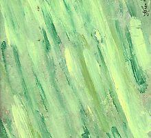 GREEN AND YELLOW STREAKING by karen66