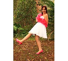 Pink Shoes Photographic Print