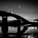 Barnstaple bridge by John Burtoft
