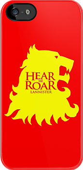 Game of Thrones - Lannister house by blackstarshop