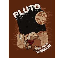 Pluto the Dwarf Photographic Print