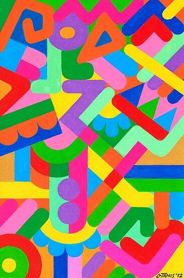 IRREGULAR ARTWORK by RainbowArt