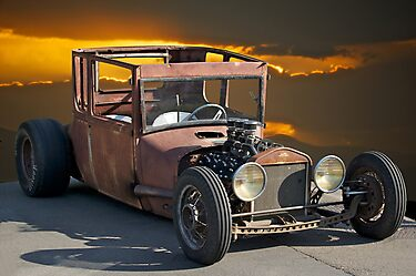 Naugh T Rat Rod by DaveKoontz