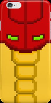 "Pixel ""Varia Suit"" Iphone Case - Metroid by PixelBlock"