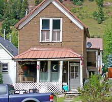 House, Telluride, Colorado, USA by Margaret  Hyde