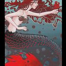Nautical Compliment Mermaid by Beth Aucoin