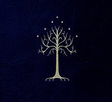 Tree of Gondor by lindsaylokalia