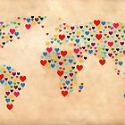 heart map  by mark ashkenazi