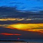 Sunset in Tel- Aviv by Nira Dabush