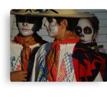Day Of Death - Dia De Los Muertos Canvas Print