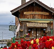 Colors of Yvoire - La Pointe Restaurant by Tom Klausz