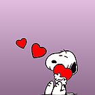 Cute Lover Snoopy by gleviosa