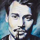 Johnny Depp by Slaveika Aladjova