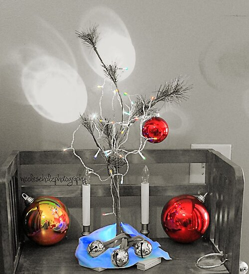 Charlie Brown Christmas colorized by Nicole  Scholz