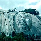 Stone Mountain with Face by Philip DeLoach