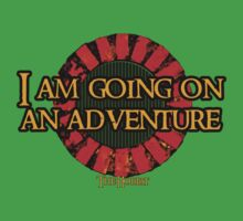 The Hobbit - I am going on an adventure! Kids Clothes