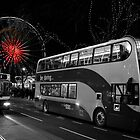 Big Wheel Edinburgh Princes St by Francis  McCafferty