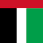 United Arab Emirates Flag by Dimuthu  Sudasinghe