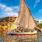 Grace - Sailing on the Nile at Aswan by Mark Tisdale