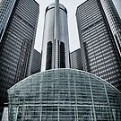 GM Headquarters, Detroit MI by Jeff Palm Photography