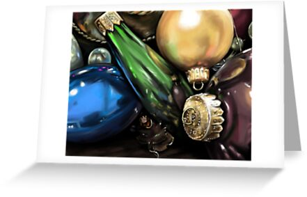 Ornament Still Life by penguinstein