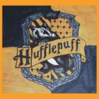 Harry Potter Hufflepuff House Crest Flag Badger by cjcandhm