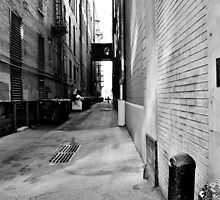 B&W Denver Alley by Jake Kauffman