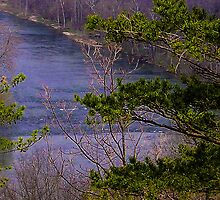 Shenandoah River from Andy Guest State Park by darbrewe