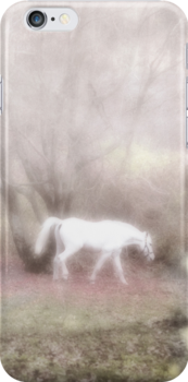 Pippin's dream white horse fantasy by Mariannne Campolongo