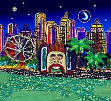 Luna Park Moonlight by Ange Irwin