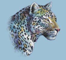 Leopard: Moonlight in A-Minor by Skaylaki