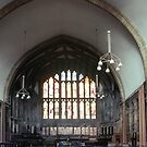 Chapter House Gloucester Cathedral 198101150025  by Fred Mitchell