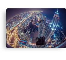101st Floor Canvas Print