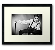 Can you take it? Framed Print