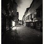 York street (black & white) by stephane j. allier