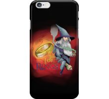 LotR - Gandalf and the Ring iPhone Case/Skin