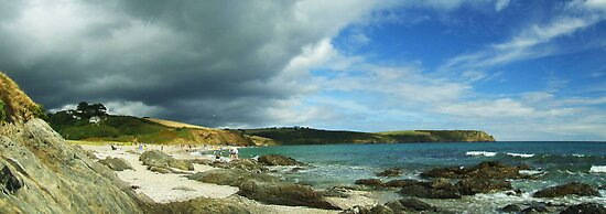 Storm Brewing over Portscatho by mps2000
