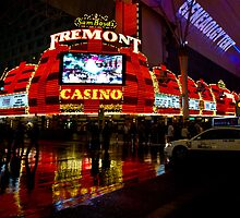 Downtown Las Vegas by Karen Morecroft