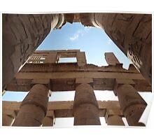 temple of karnak Poster