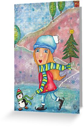 Whimsical Christmas by Paola Jofre